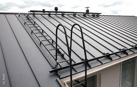 Panele dachowe z powlekanej blachy stalowej Ruukki