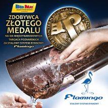 Złoty Medal na MTP BUDMA dla Flamingo