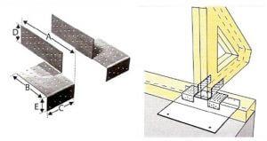 Rys. 3. Systemy złączy, dzięki którym można zamocować murłatę na krawędzi płyty stropowej.