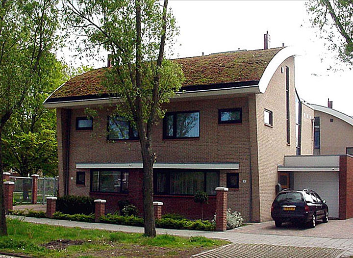 Fot. Przykład dachu kopulastego, den Helden – Holandia
