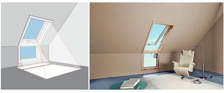 Jak dobierac rozmiar okien dachowych do poddasza?