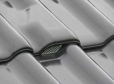 Dachówka wentylacyjna z kratką w komplecie