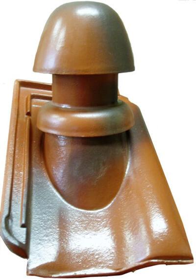 Ceramiczny kominek odpowietrzający - Grzybek