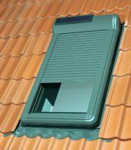 Zamontowana roleta ARZ Solar