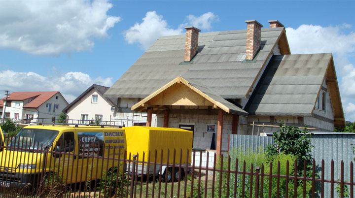 Dachowe Pokrycia Bitumiczne Dekarz I Cieśla
