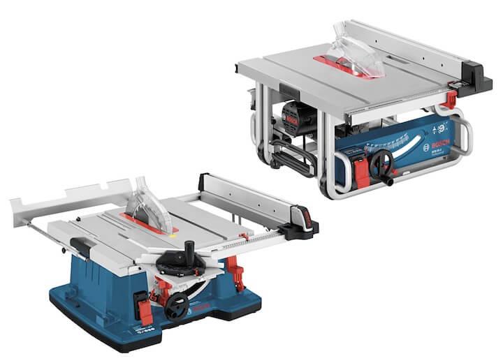 Nowoczesne stołowe piły tarczowe Bosch GTS 10XC i GTS 10J