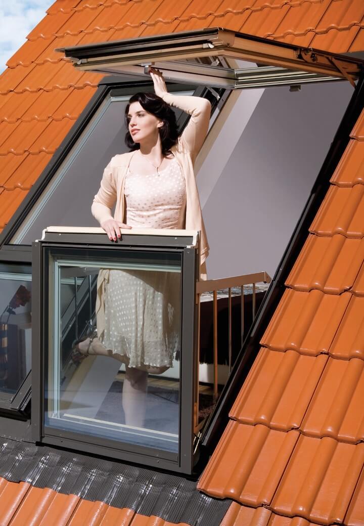 Окно-балкон fakro fgh-v p2 galeria, цена - купить fgh-v p2 g.