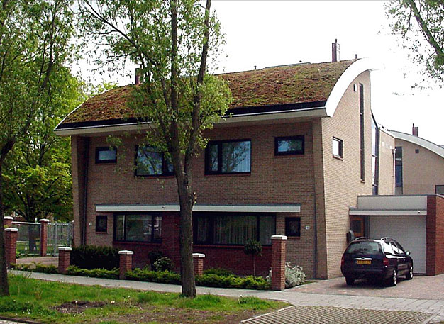 Fot. 2. Przykład dachu kopulastego, den Helden – Holandia