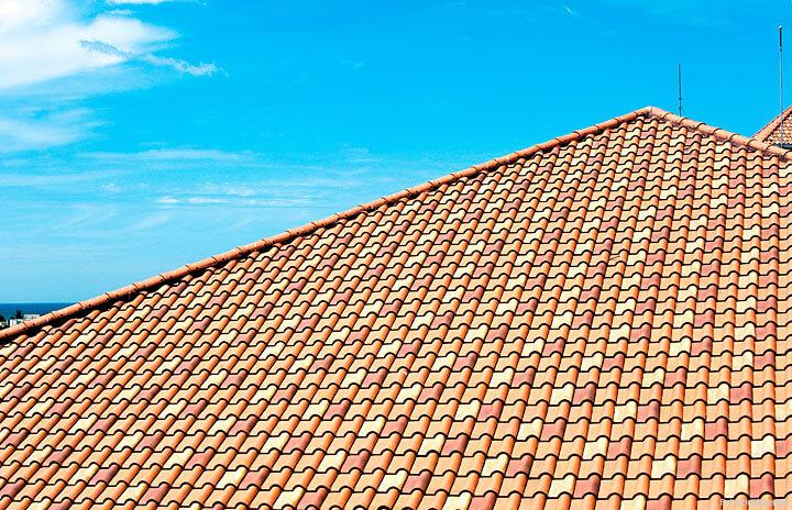 Piękno dachów ceramicznych