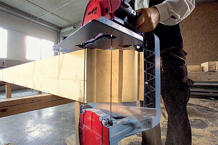 Rewelacyjny Pilarka taśmowa - najbardziej uniwersalna maszyna ciesielska DW71