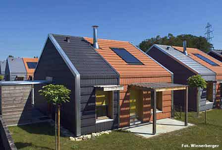 Domy dla wspólnoty Romów, mieszkających w Alascji
