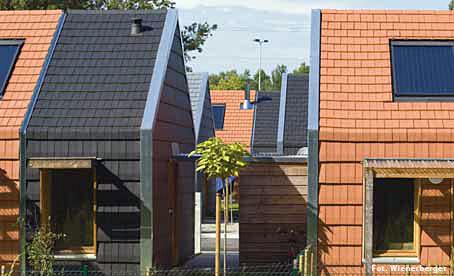 Domy dla wspólnoty Romów, mieszkających w Alsacji