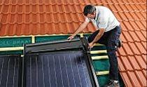 """BRAAS SOLAR TCA2 – montaż """"w dachu"""" - oryginalny system BRAAS do zabudowy kolektorów w połać dachu"""