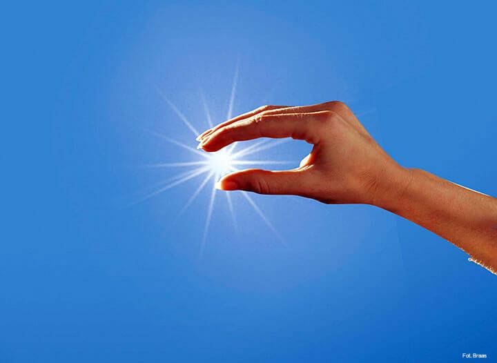 Kolektor słoneczny podgrzeje wodę w basenie