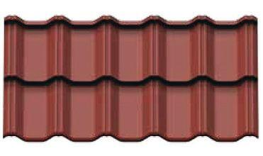 Remont dachu z blachodachówką Plannja Flex