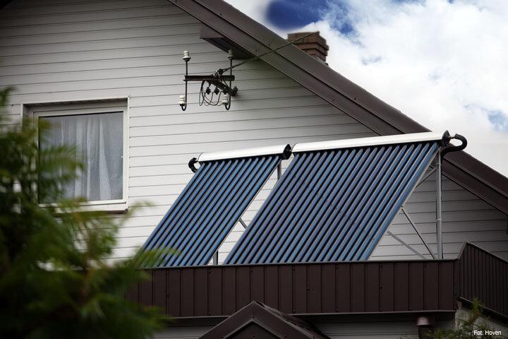 Dzięki dopłatom unijnym kolektory słoneczne stają się bardzo opłacalnym źródłem energii