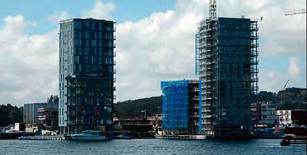 Apartament w Stavanger z widokiem na morze, hangar dla łodzi i marinę