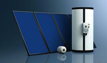 Zestaw solarny Schüco do produkcji c.w.u. i wspomagania.