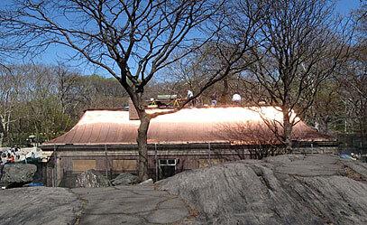 Całkiem nowy dach z miedzi