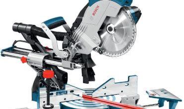 Fot. 1. Ukośnica do paneli GCM 8 SJL Professional, wyposażona w wydajny silnik 1600 W i nowy, dwupunktowy system odsysania pyłu, zapewnia szybkie tempo i czystość pracy.