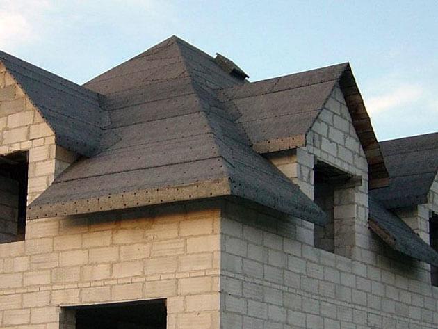 Wstępne pokrycie dachu na dwa sposoby