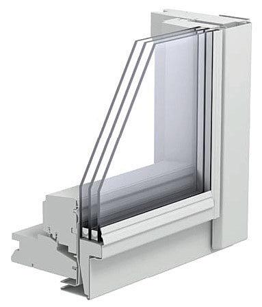 Fot. 3. Okno z oszkleniem dwukomorowym.