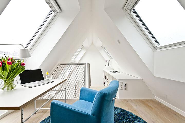 Darmowa energia = energooszczędny dom z oknami Velux