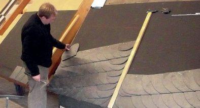 Szkolenia z układania łupka dachowego