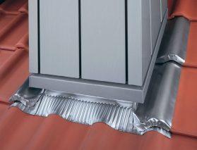 Miękki cynk - Plastyczny i trwały materiał do obróbki komina i krawędzi dachów