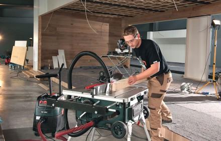 Pilarka stołowa TS 254 - nowe standardy mobilności