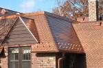Dachy miedziane - podkład