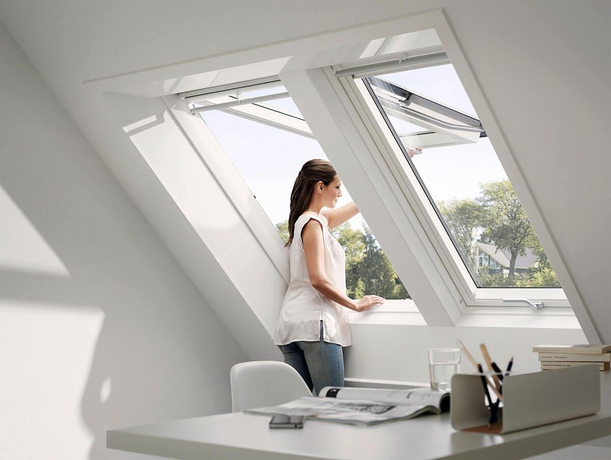 Nowe okna dachowe VELUX – więcej światła i więcej darmowej energii