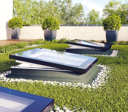 Okno typu F jak Fakro – na płaski dach