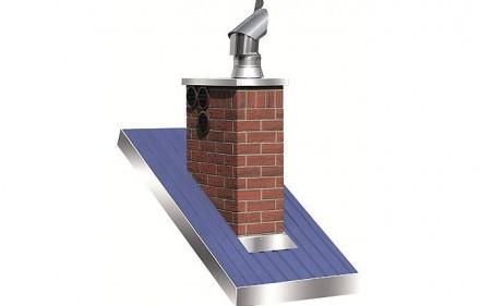 System nasad dachowych Komin-Flex – inna wersja komina