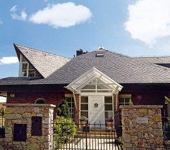 200-500 lat – na tyle szacowana jest trwałość pokrycia dachowego z łupka