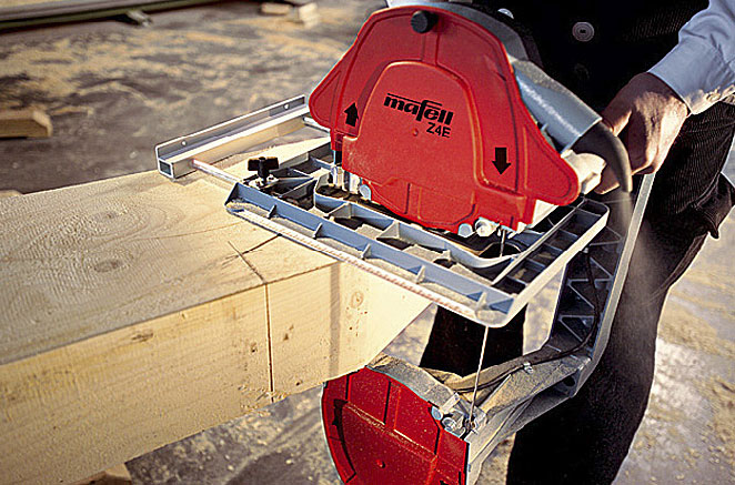Pilarka taśmowa Mafell Z 5 Ec  – najbardziej wszechstronna maszyna ciesielska