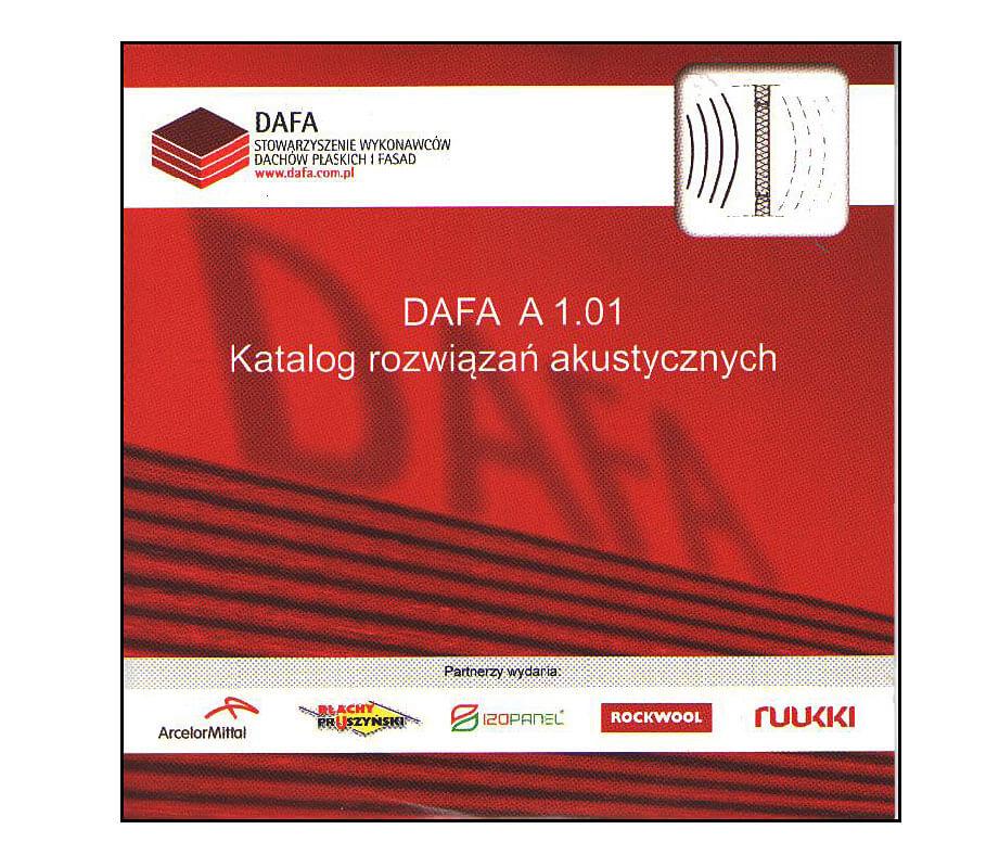 Katalog rozwiązań akustycznych - nowa publikacja Stowarzyszenia DAFA