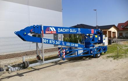 Dźwig Klaas K17/24TSR – LIGT w firmie Dachy GlejK 17-24 TSR - Light to 199 000 zł