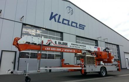 Dźwig Klaas K23/33TSR w firmie Hajduk