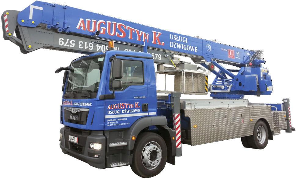 Dźwig Klaas K31/35TSR w firmie Augustyn