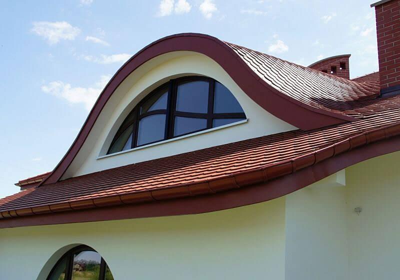 Lukarna - ozdobny element dachu