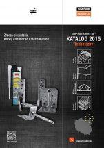 Fot. 1. Katalog techniczny 2015 – złącza ciesielskie, kotwy chemiczne i mechaniczne.