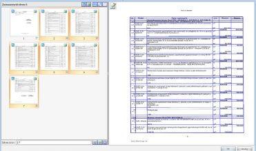 Import zeskanowanych wydruków przedmiarów i kosztorysów zapisanych w formacie PDF
