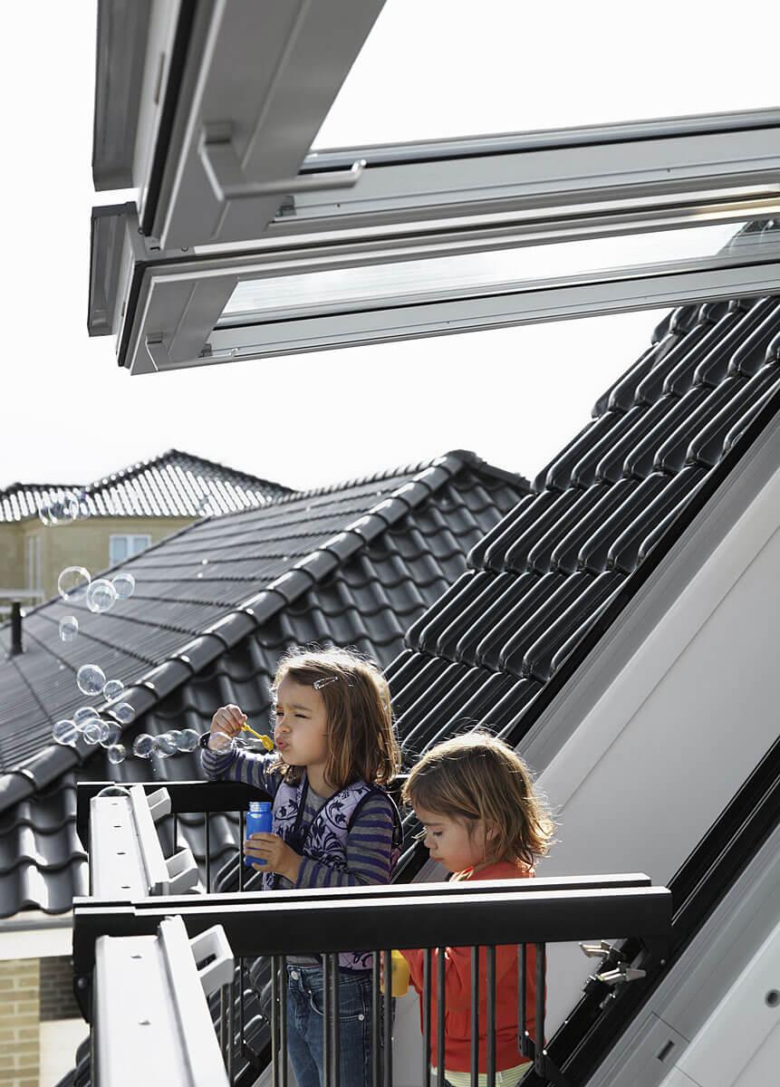 Jedyny na rynku balkon dachowy dla dwojga