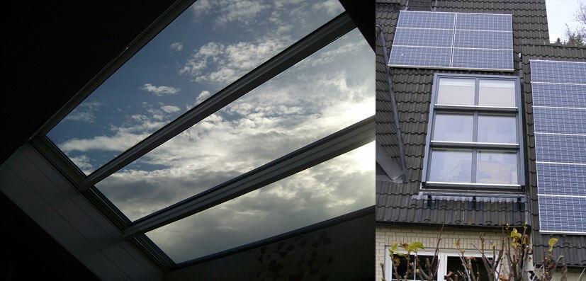 Okna dachowe firmy Metallbau Rath
