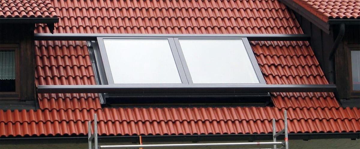 Okna dachowe firmy Baier Metalbau