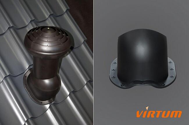 Kominek wentylacyjny VIRTUM® O 160mdm nt Sp. z o.o., Bielsko Biała