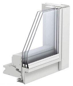 Fot. 8. Okno z oszkleniem dwukomorowym.