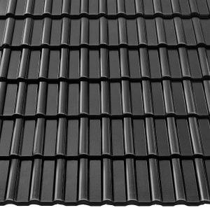 Dachówka dostępna jest w czterech wariantach kolorystycznych: kasztanowym, ceglanym, grafitowym oraz czarnym.