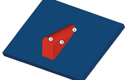 Rys. nr 1. Geometria lukarny baryłkowej.